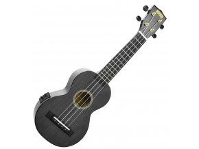 2500643 Mahalo Electric Acoustic koncertní ukulele černý lesk 2