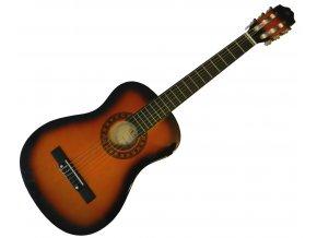 2500485 dětská 3 4 kytara PECKA + obal zdarma