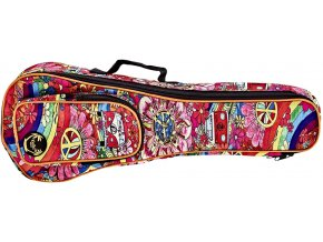 obal na sopránové ukulele barevný potisk ortega kub 68 so