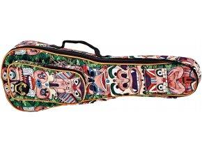 obal na sopránové ukulele barevný potisk ortega kub TM