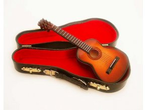 klasická kytara sunburst