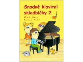 3200001 Martin Vozar – Snadné klavírní skladbičky 2. díl