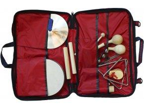 Planet Music orffovy nástroje sada percusí pro školy školky v tašce malá