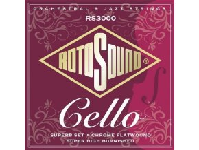 sada strun na cello 4 4 ROTOSOUND RS3000 anglie