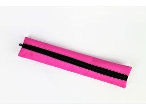 Obal na sopránovou flétnu - růžová reflex