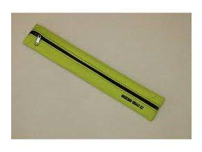 zelený obal na sopránovou flétnu vyrobeno v čr