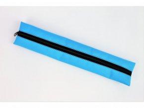 modrý obal na sopranovou fletnu modra reflex vyrobeno v čr