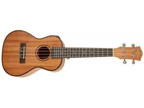 cascha hh2033E koncertní ukulele se snímačem ladičkou obalem a trsátky zdarma
