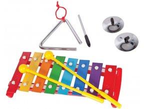dětské hudební nástroje sady pp world percussion pk09 music box