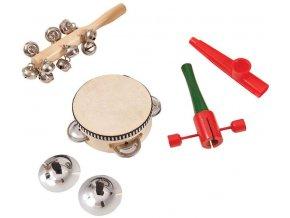 dětské hudební nástroje sady pp world percussion pk10 music box