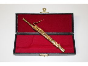dárek pro muzikanta miniatura FAGOT zlatý (2)