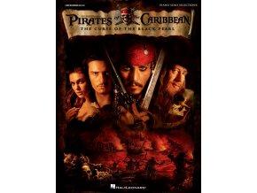 Osm melodií z prvního dílu úspěšné filmové série Piráti z Karibiku s názvem Prokletí černé perly v úpravě pro solo piano