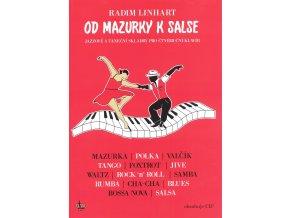 Od mazurky k salse + CD jazzové a taneční skladby pro čtyřruční klavír
