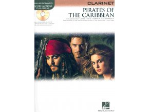 PIRATES OF THE CARIBBEAN - klarinet solo + audio online
