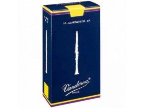 Vandoren plátek na Bb klarinet traditional Bb klarinet