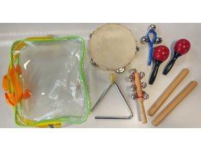 dětské hudební nástroje sady pecka percussion ppset2