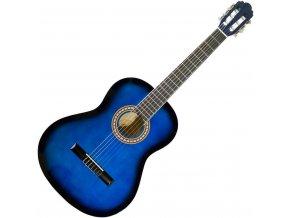 klasická kytara 3 4 modrá PASADENA