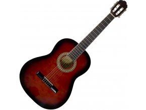 klasická kytara 3 4 červená PASADENA