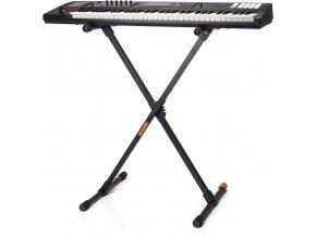 klávesový stojan hercules cestovní skládací a
