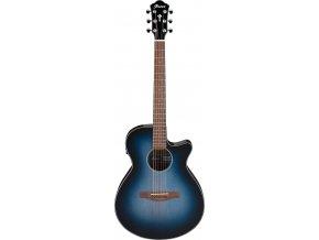 IBANEZ elektro akustická kytara modrá AEG50 IBH 5B 01