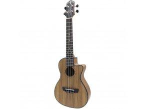 CRAFTER UC 250C koncertní ukulele vykládané lemování ozdobný lem rezonanční otvor slvělý zvuk