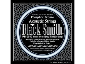 Black Smith phosphor bronzové 9 42