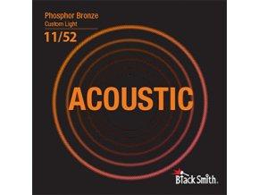 Black Smith phosphor bronzové kovové struny 011