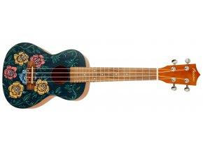bamboo rock n roll 23 koncertní ukulele zdarma obal a trsátko