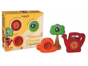 testováno Percusní sada zahradní kamarádi 3ks vhodné pro děti od jednoho roku