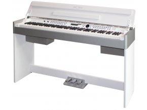 digitalni piano beale aurora 4000 bílé