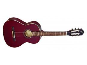 klasická kytara ortega r121wr 3 4 červená obal zdarma