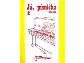 Já, písnička 2 - klavír