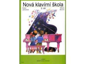 Janžurová, Borová - Nová klavírní škola III