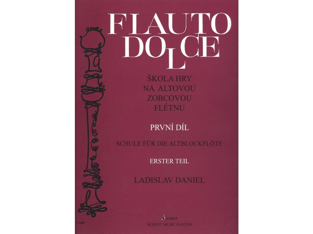 Škola hry na altovou zobcovou flétnu 1.díl - Ladislav Daniel