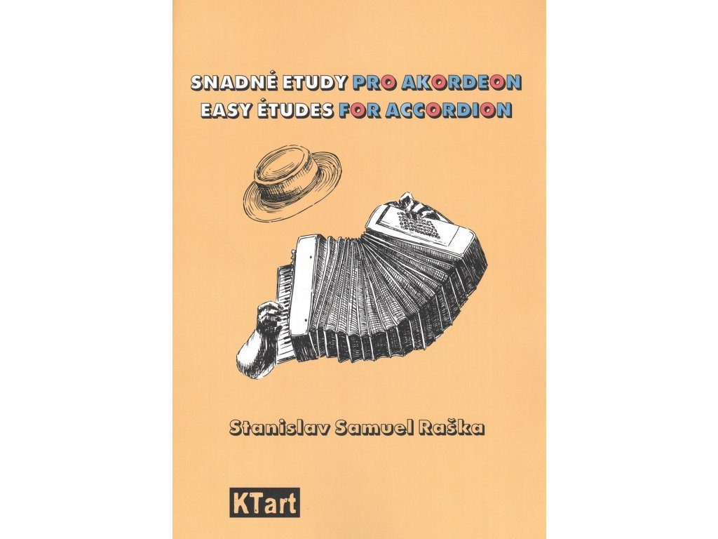 Snadné etudy pro akordeon - Stanislav Samuel Raška