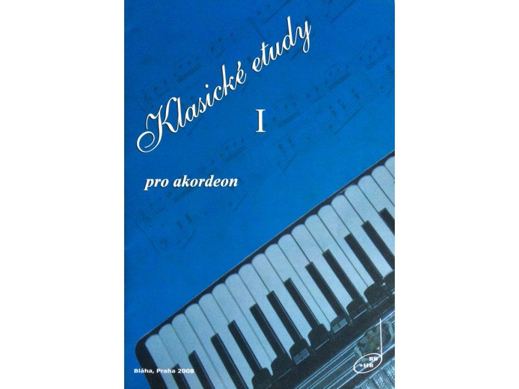 Klasické etudy pro akordeon I - Bohumil Bláha