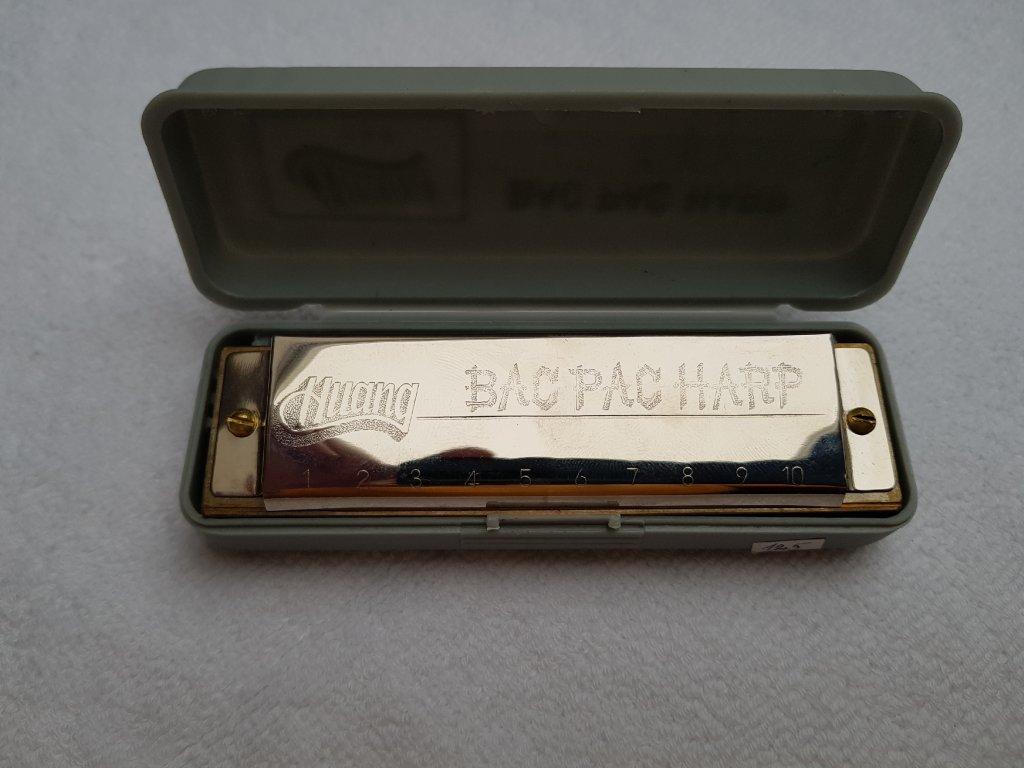 Huang Bac Pac Harp 104 foukací harmonika