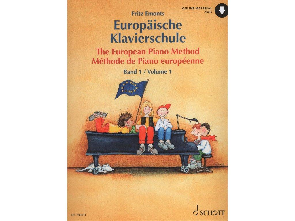 The European Piano Method 1 - Fritz Emonts