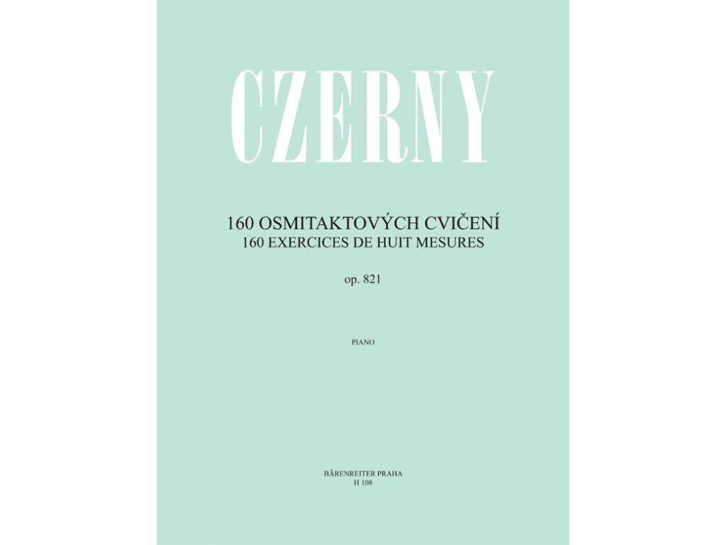 160 OSMITAKTOVÝCH CVIČENÍ, OP.821 - Czerny
