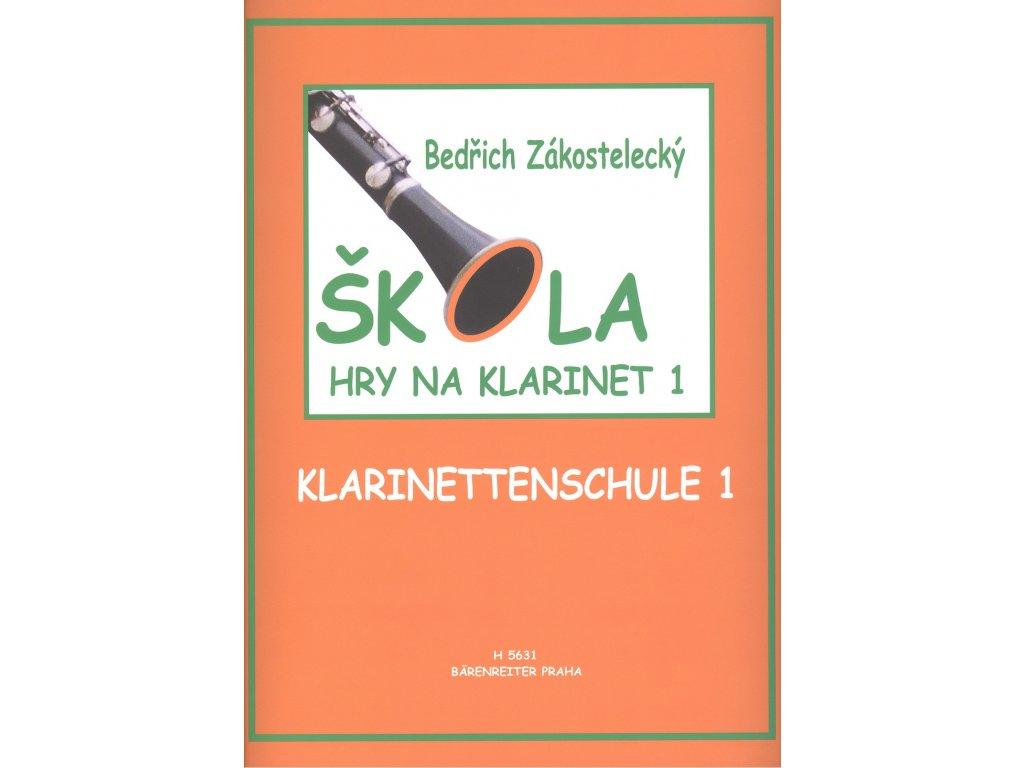 Škola hry na klarinet 1 - Bedřich Zákostelecký