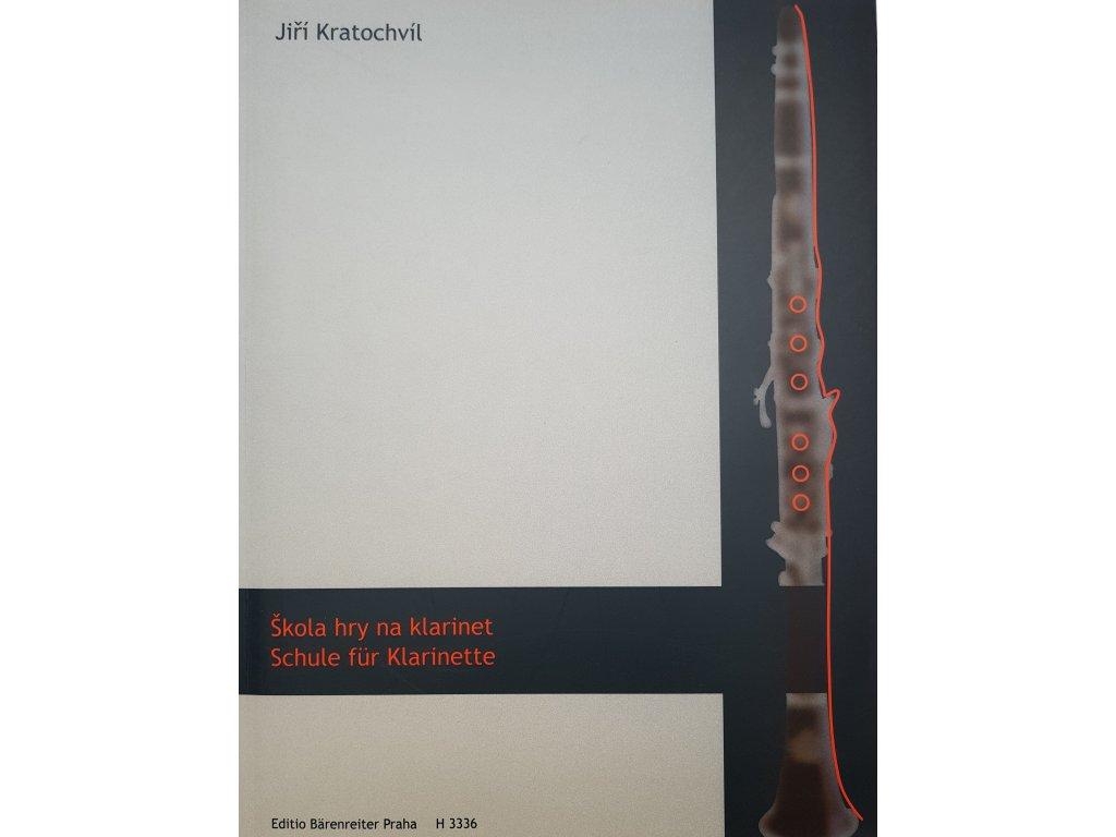 Škola hry na klarinet - Jiří Kratochvíl
