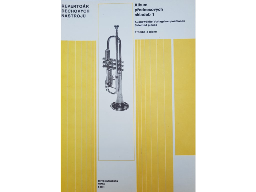 Album přednesových skladeb 1 -Tromba e piano
