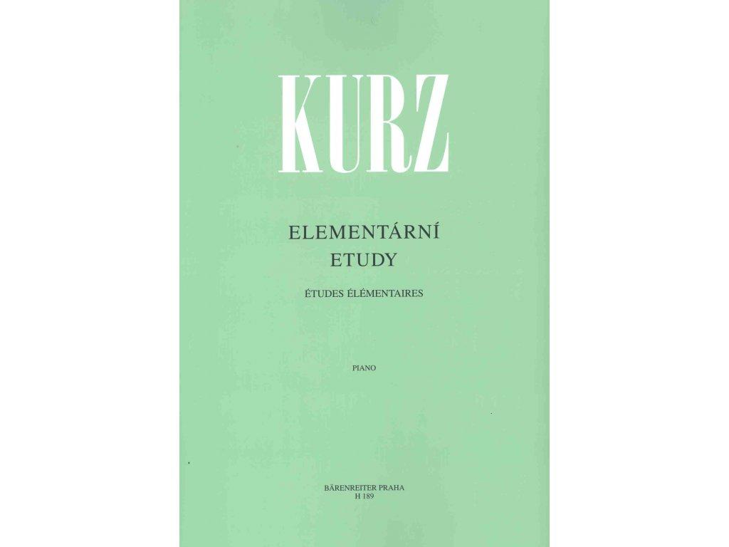 Elementární etudy - Vilém Kurz
