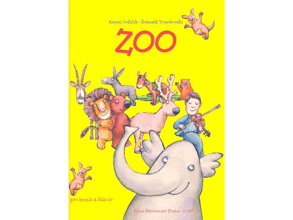 ZOO (sklady pro housle a klavír) - A. Gofali, R. Twardowski