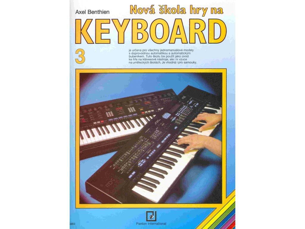 Nová škola hry na keyboard 3 - Axel Benthien