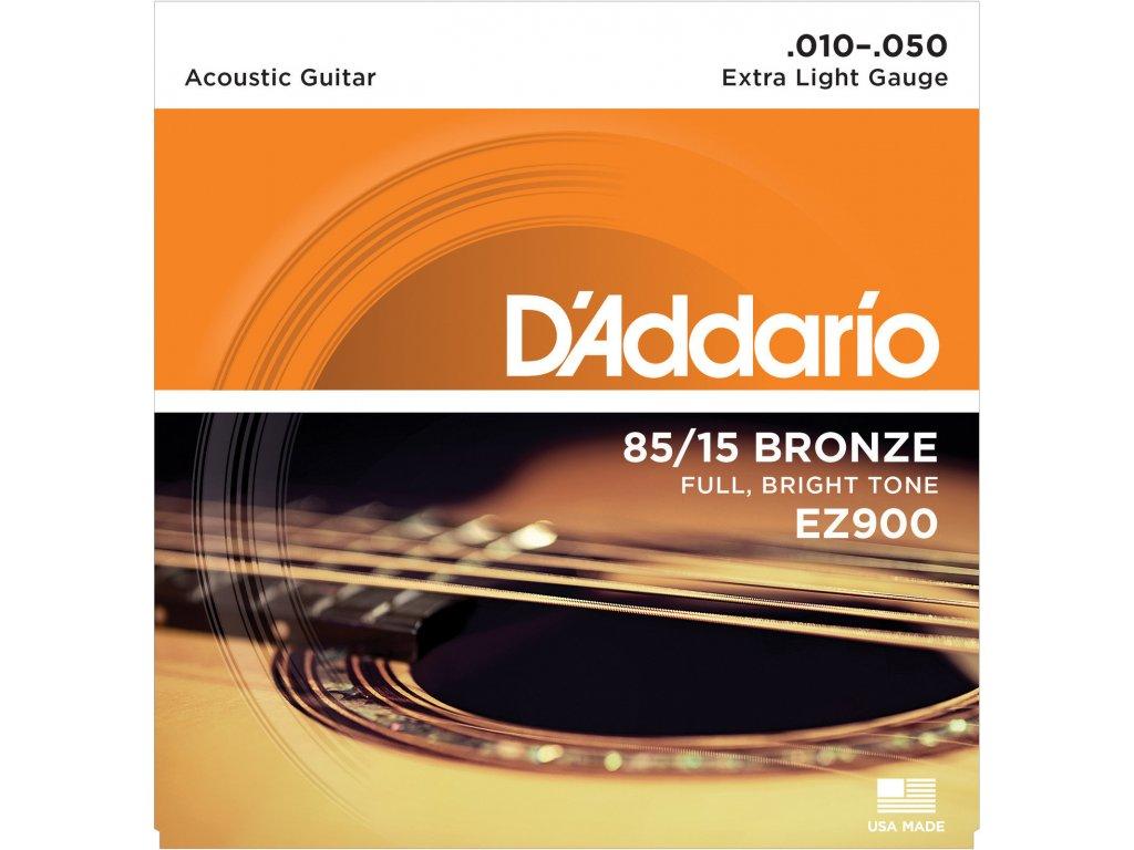 D'Addario EZ900 Extra Light - struny na akustickou kytaru