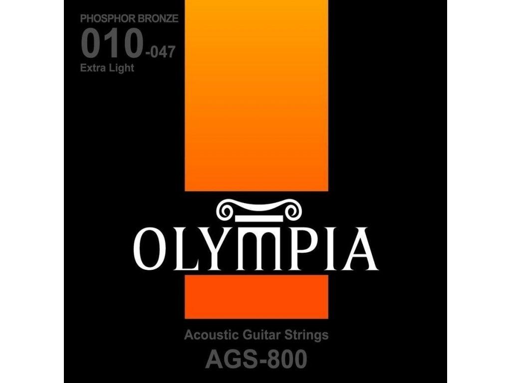 Olympia AGS 800 - struny na akustickou kytaru