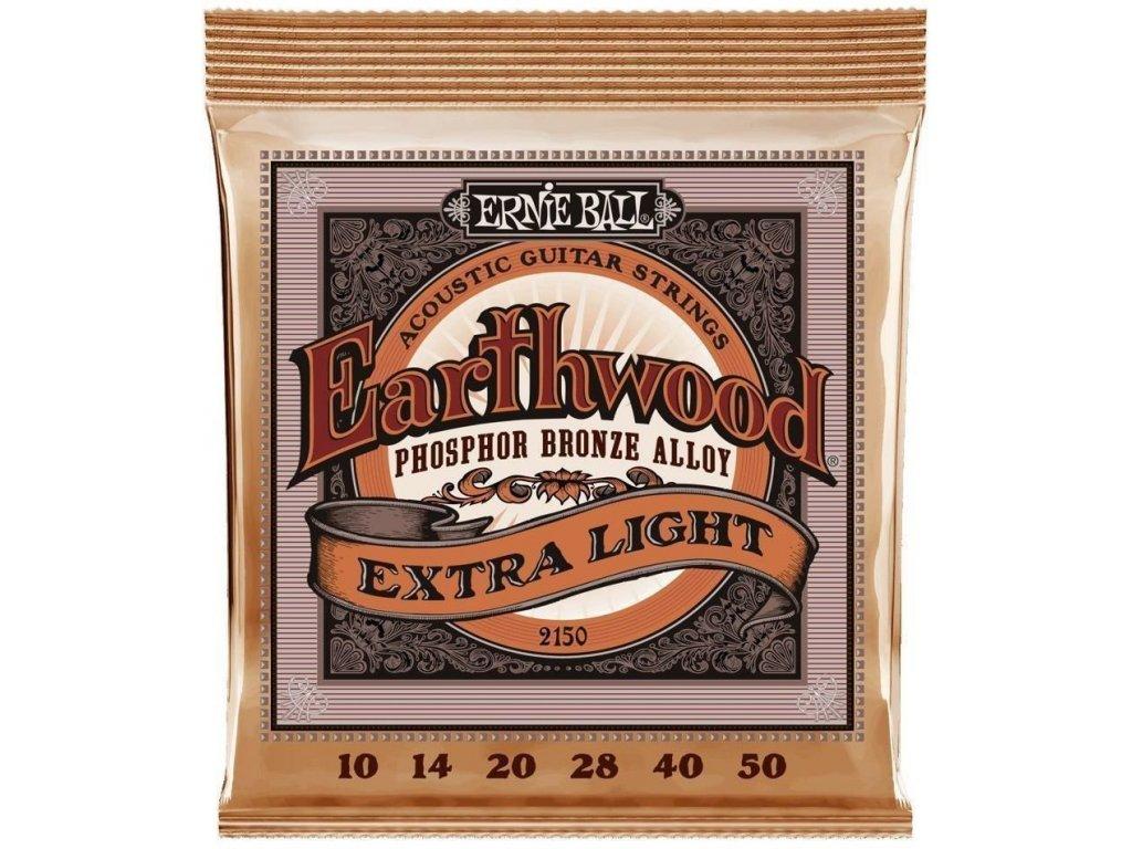 Ernie Ball 2150 Earthwood Extra Light - struny na akustickou kytaru
