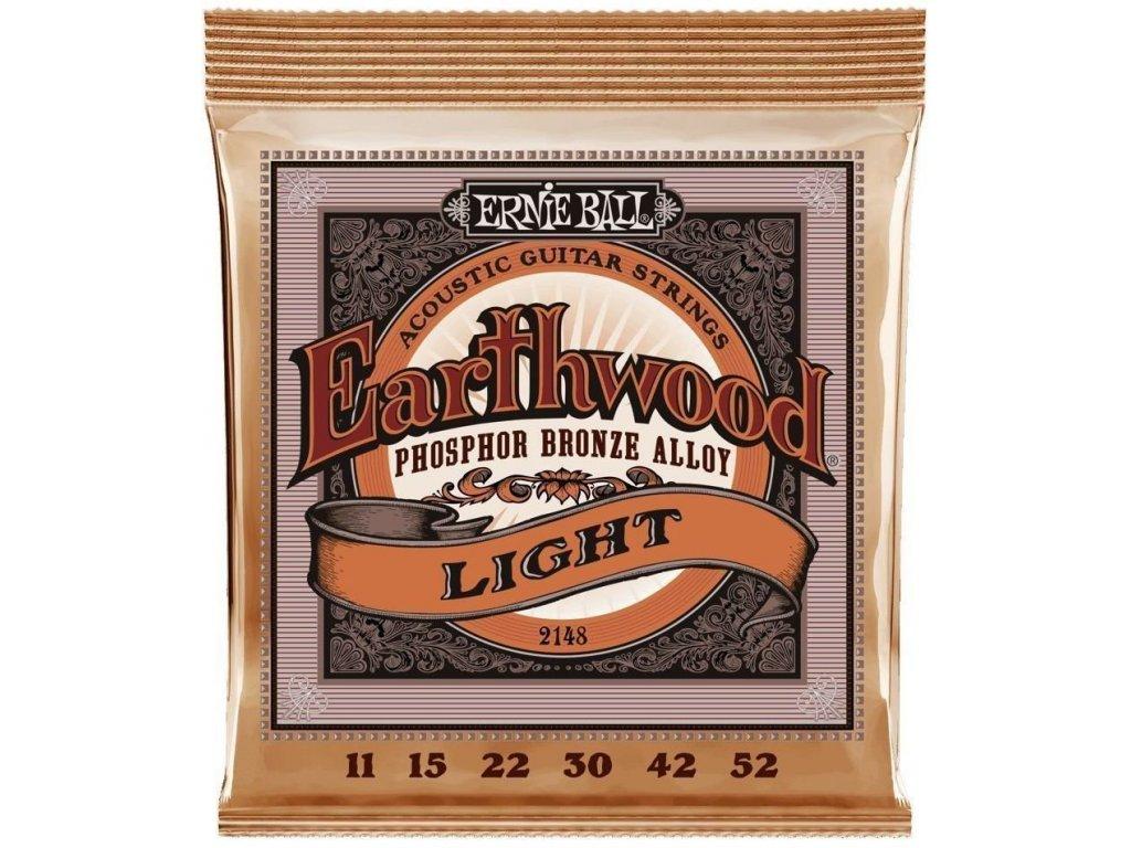 Ernie Ball 2148 Earthwood Light - struny na akustickou kytaru