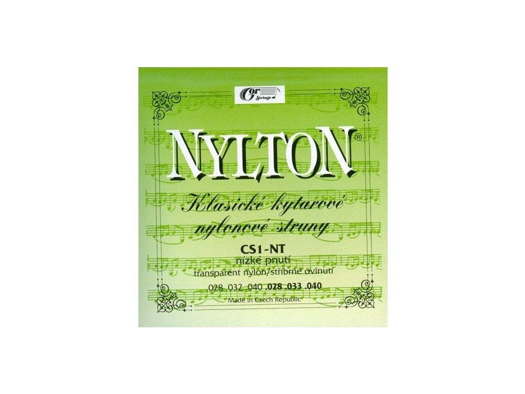 Gorstrings Nylton CS1-NT - nylonové struny pro klasickou kytaru